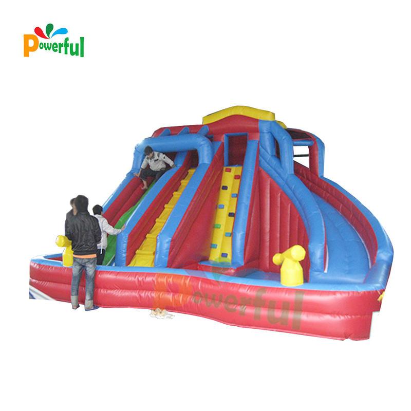 Manufacturer Commercial bouncy castle inflatable slides for kids blow up bounce slide outdoor sport