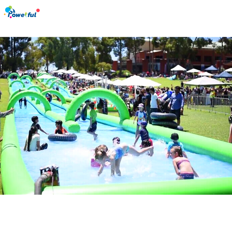Commercial grade inflatable water slides for sale