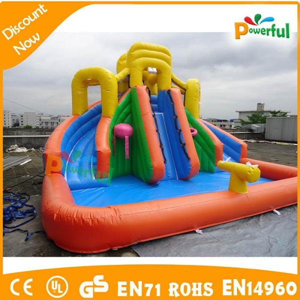 inflatable slide commercial,small indoor inflatable slide,inflatable pool slide