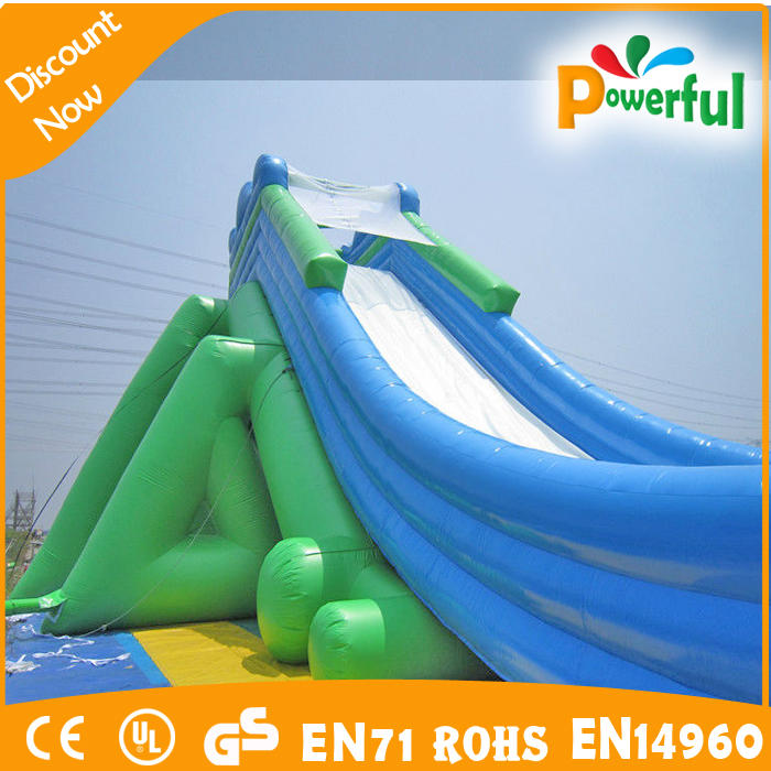 Large Great popular inflatable zip line