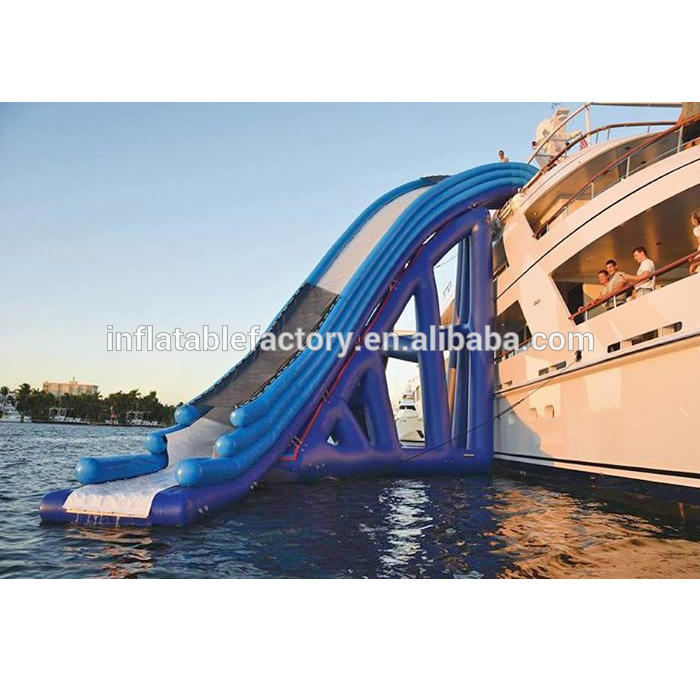 air tight inflatable yacht slide ,inflatable slide for yacht