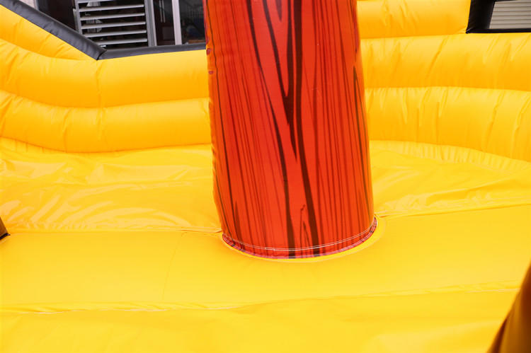 High quality PVC large inflatable pirate boat inflatable bouncy castle dry slide for sale
