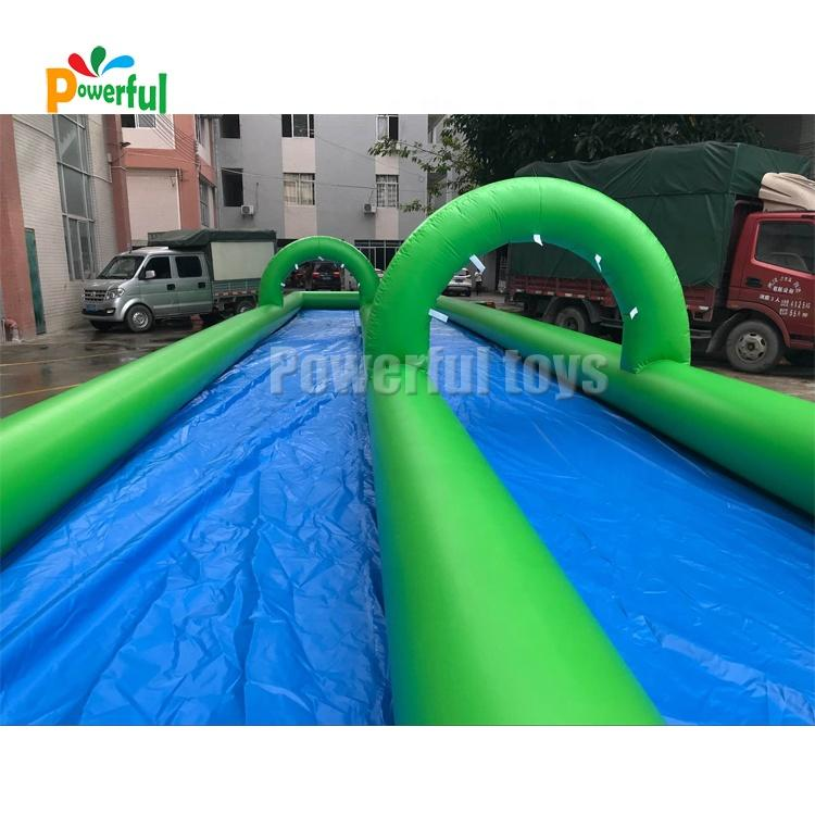double inflatable slip n slide inflatable water slide the city for kids and adults