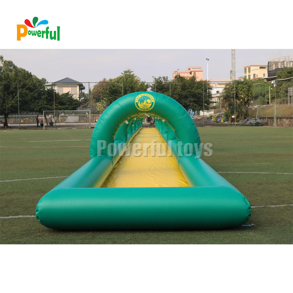 50m inflatable slip and slide giant inflatable water slide for adult