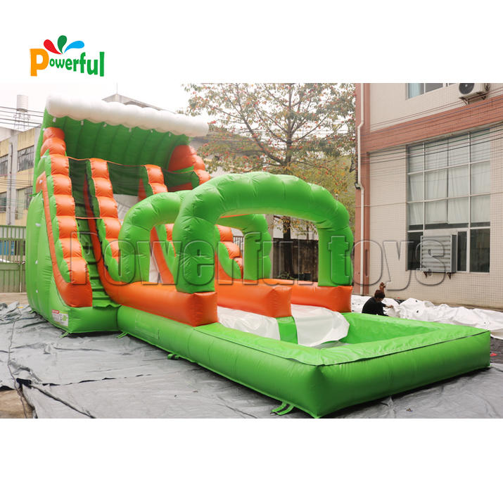 Commercial inflatable waterslide for kids water park