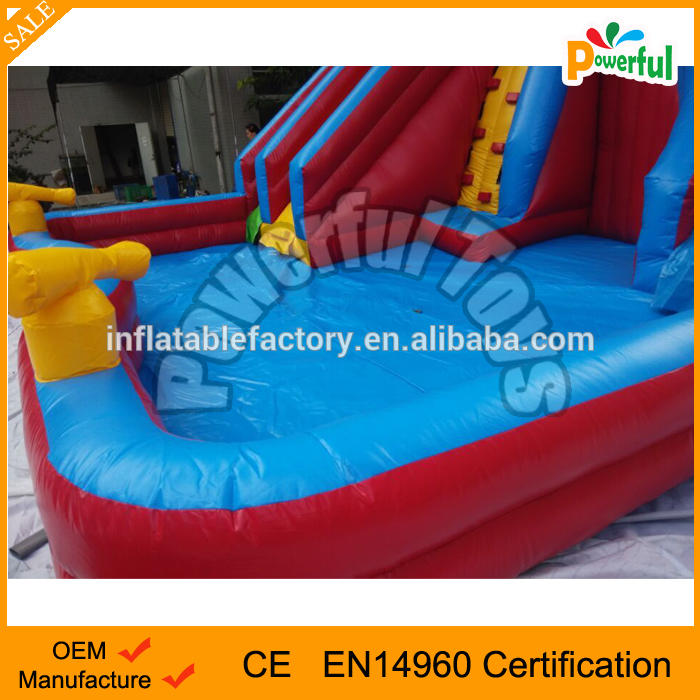 giant inflatable slide for pool/inflatable water slide clearance