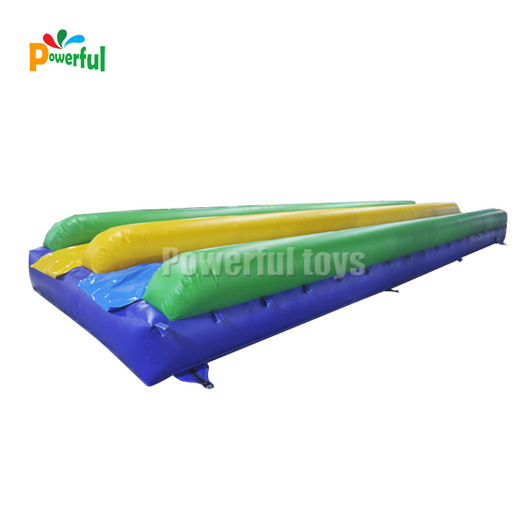commercial rental super slide inflatable foam slide inflatables slip n slide inflatable sliding mattress for kids or adults