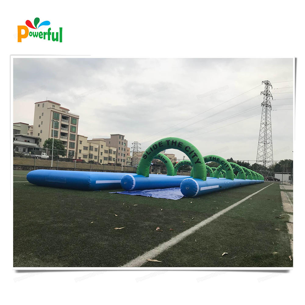 50m inflatable slip and slide slip n slide for adult inflatable slide the city