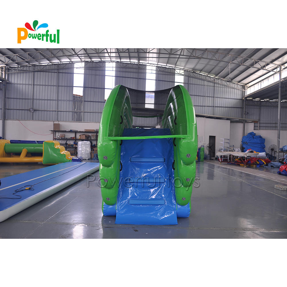 Water toys globe largest superyacht waterslide inflatable yacht slide for luxury boat