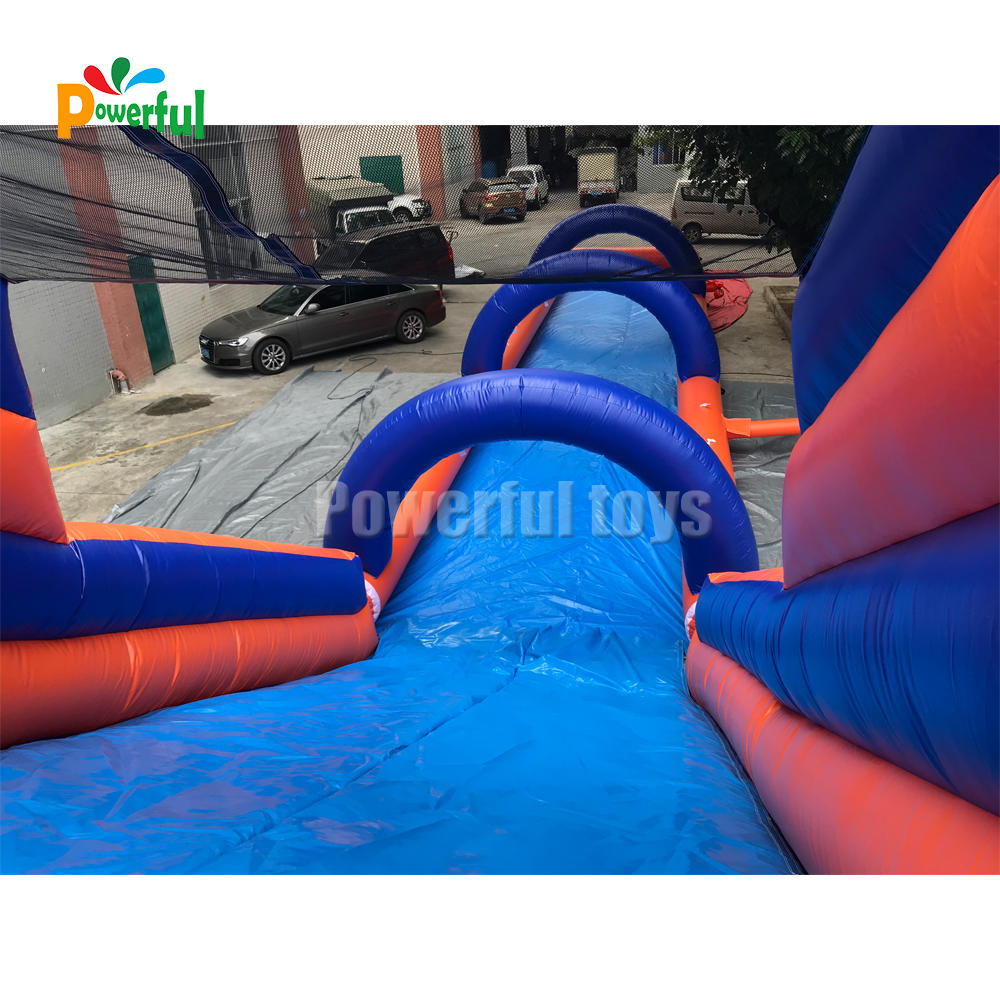 inflatable slope with slide inflatable water slip n slide