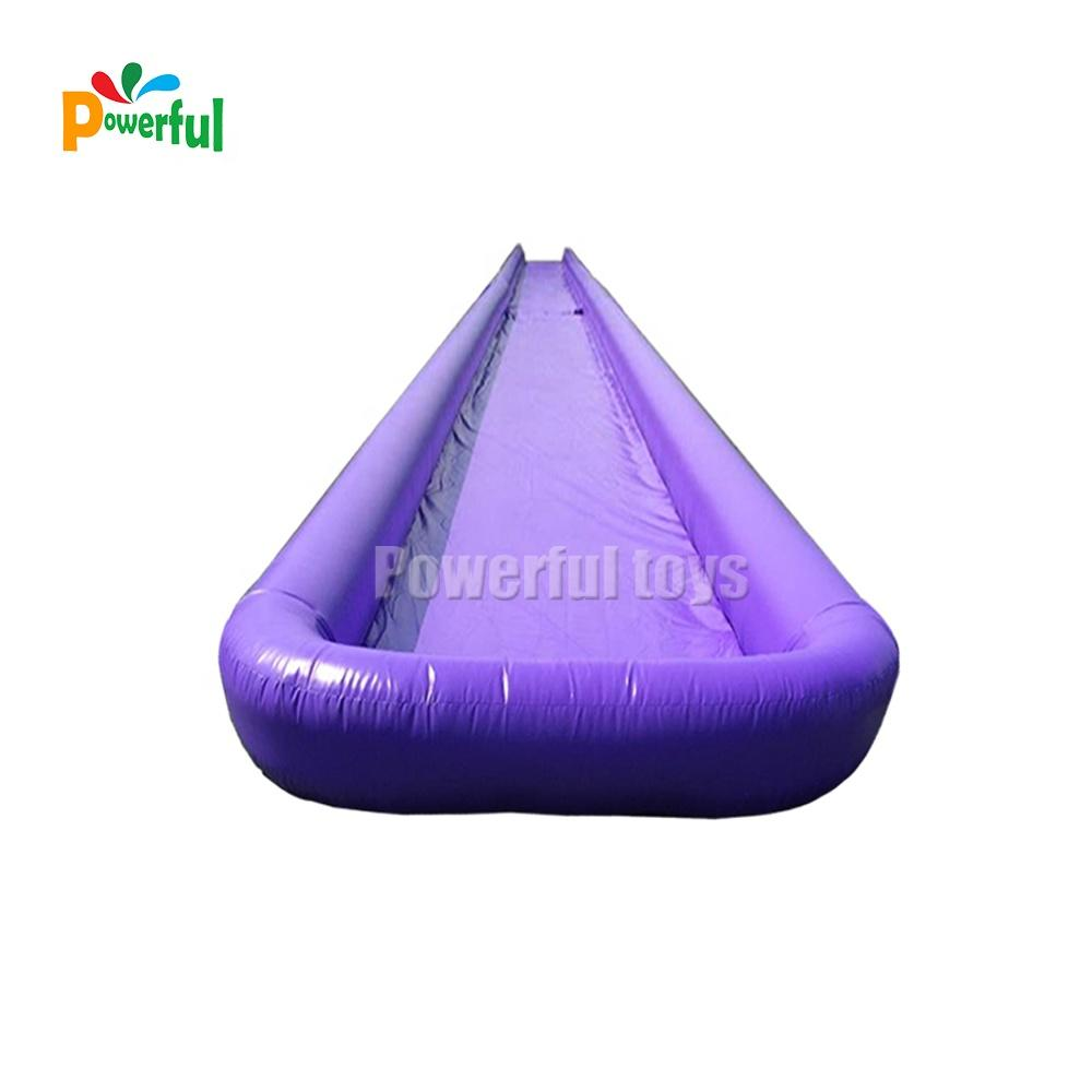 Factory size inflatable water inflatable slip and slide