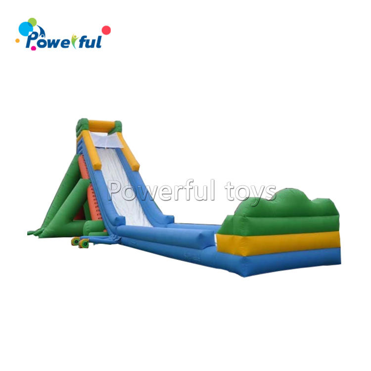 Huge 50m inflatable hippo water slide trippo slip and slide for adult