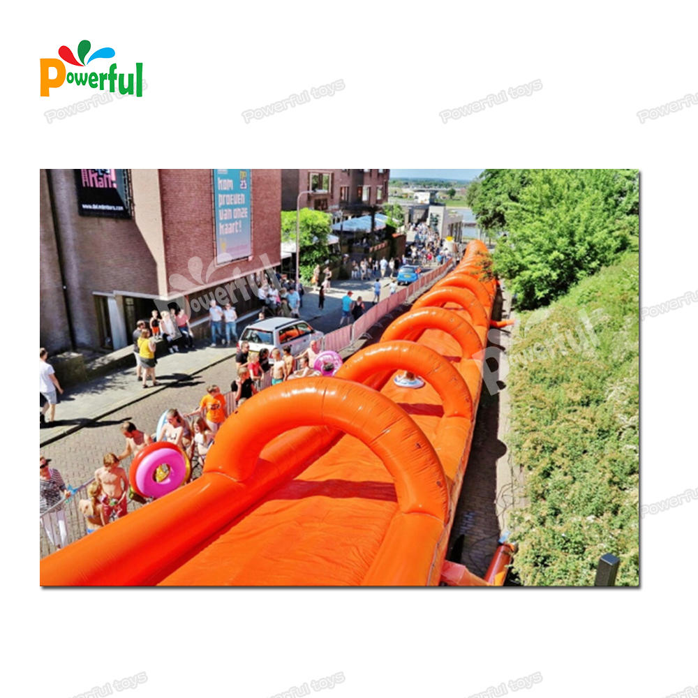 Hot sale pool water slide inflatable slide belly slide for kids and adults