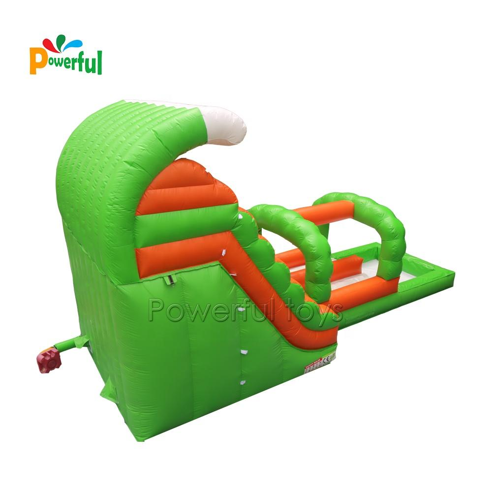 Kid's splash funland slide bouncy inflatable water slide with ball pool