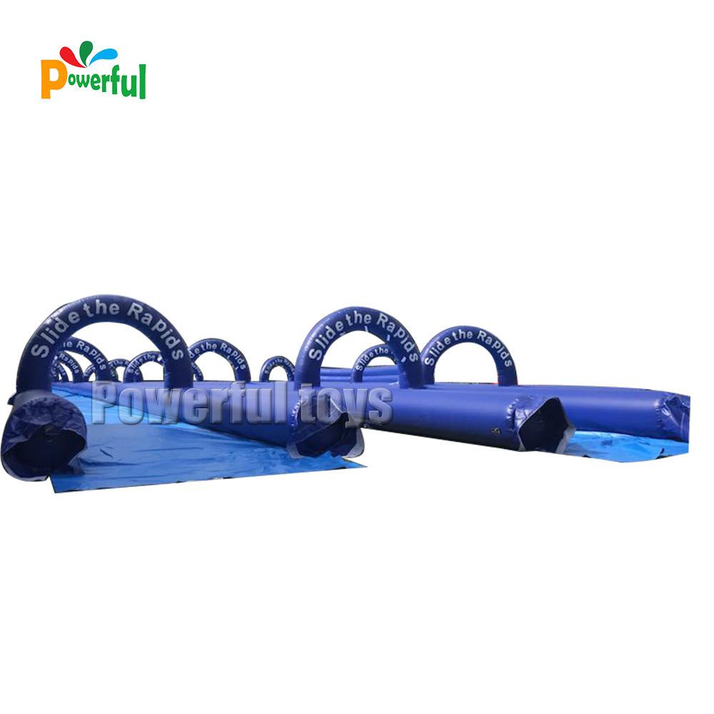 airtight double lane slip n slide inflatable slide for kids