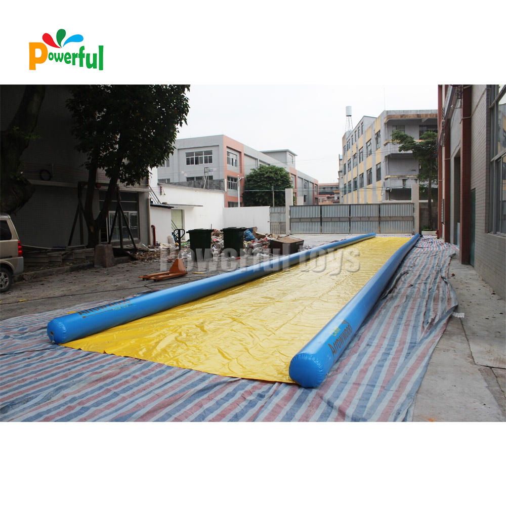30ft inflatable water slip n slide airtight inflatable water slip n slide with suitable pump