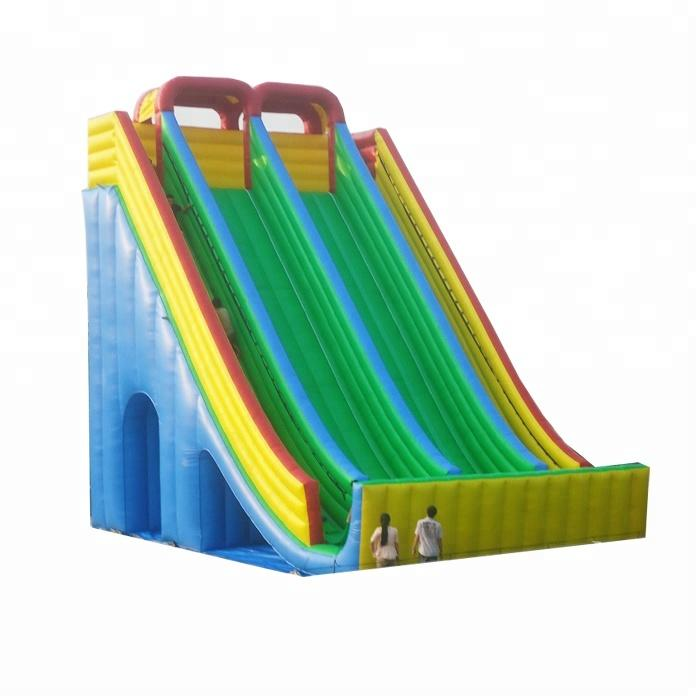 factory price inflatable water slide for kids and adults