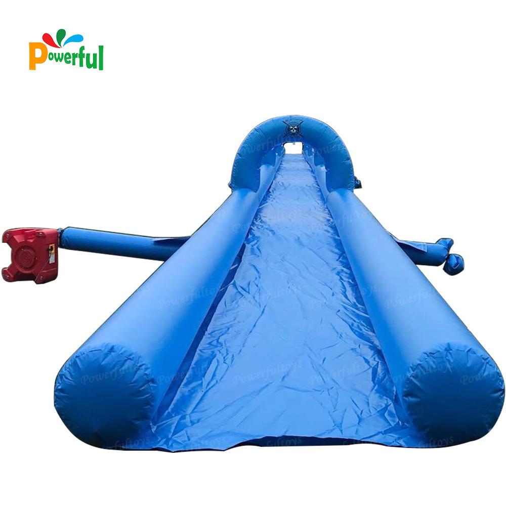 Crazy outdoor 100m water slide water slide inflatable slip n slide