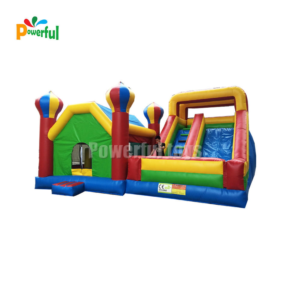 giant inflatable water slide inflatable escape slide for kids