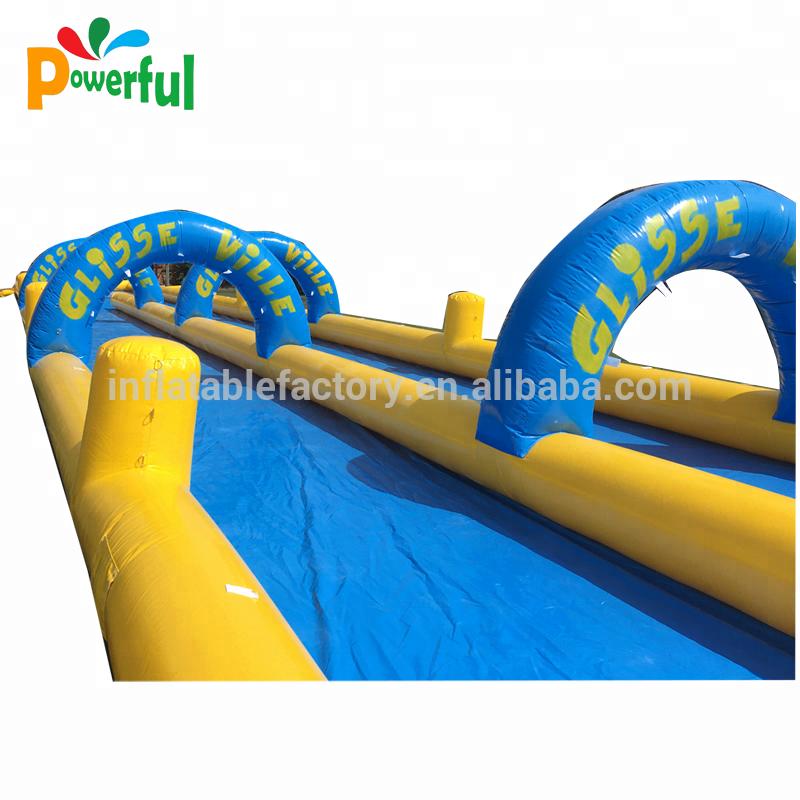 1000ft slip n slide inflatable slide the city