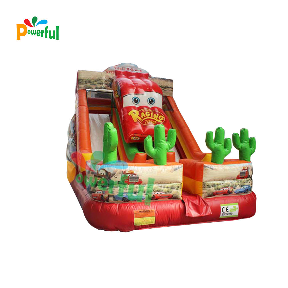 Car Inflatable kids slide cars inflatable dry slide racing car inflatable slide for sale