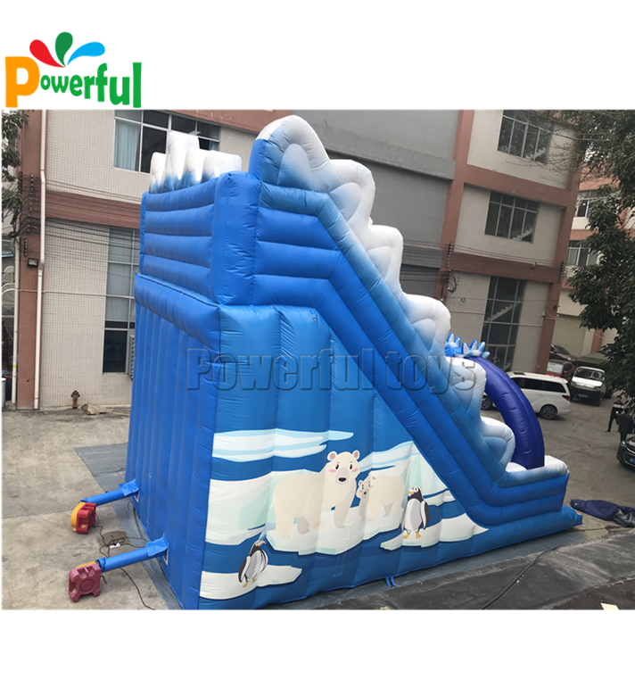 Large Inflatable dry slide inflatable fun city slide for sale