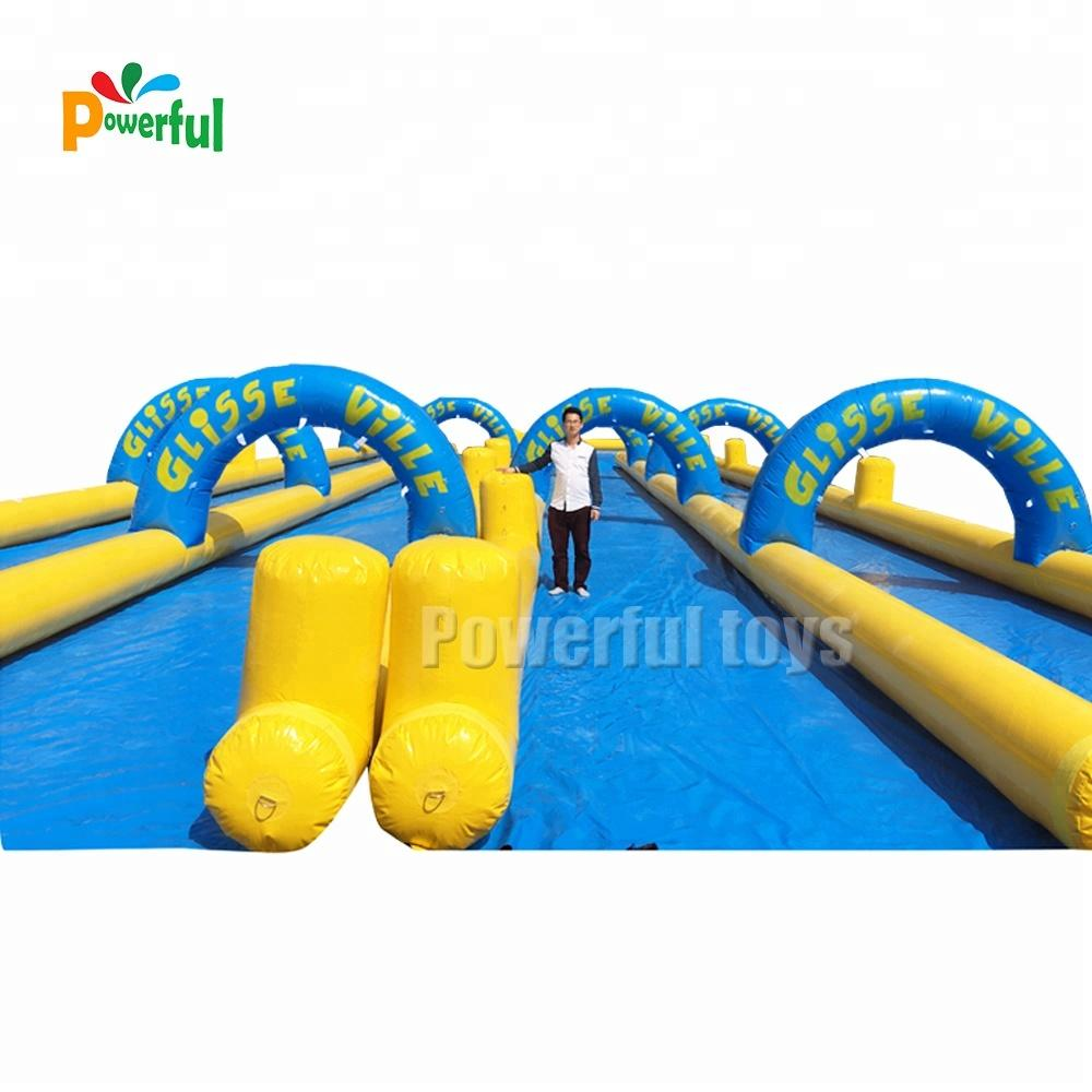 2018 long largest water inflatable city slide n slip