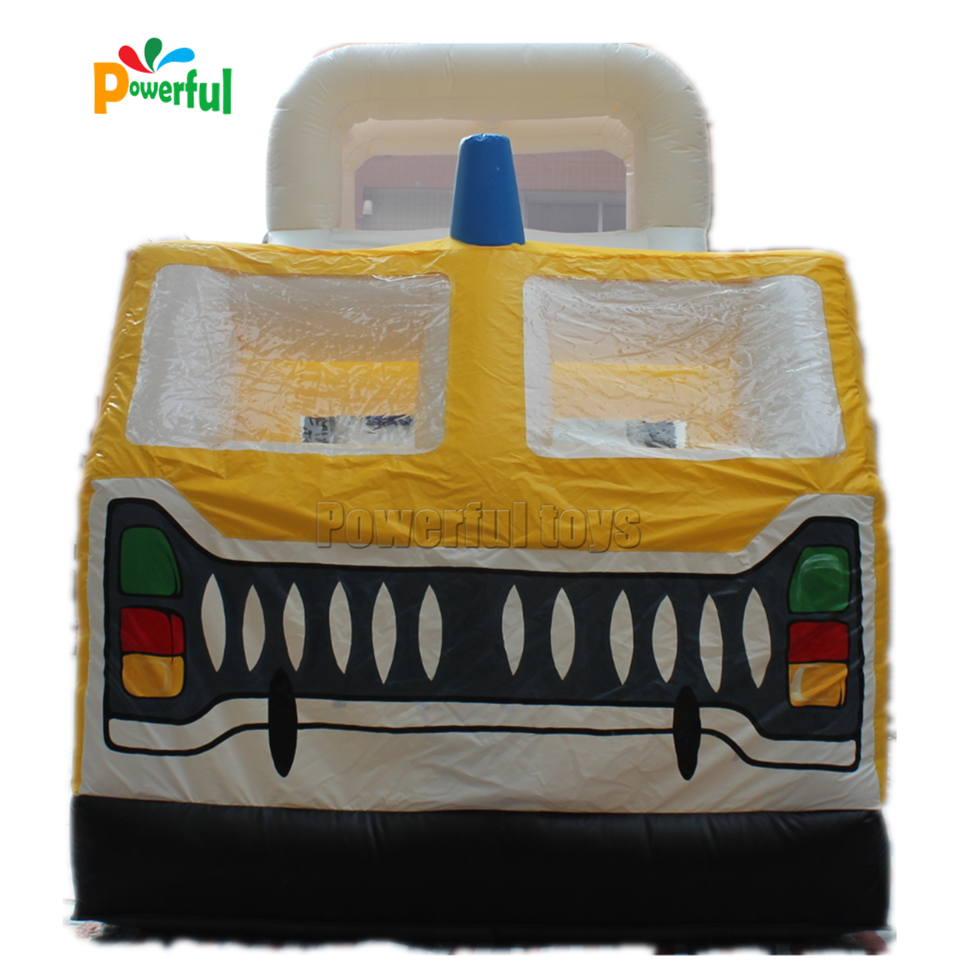 Wholesale funny forest jumbo inflatable slide for amusement park