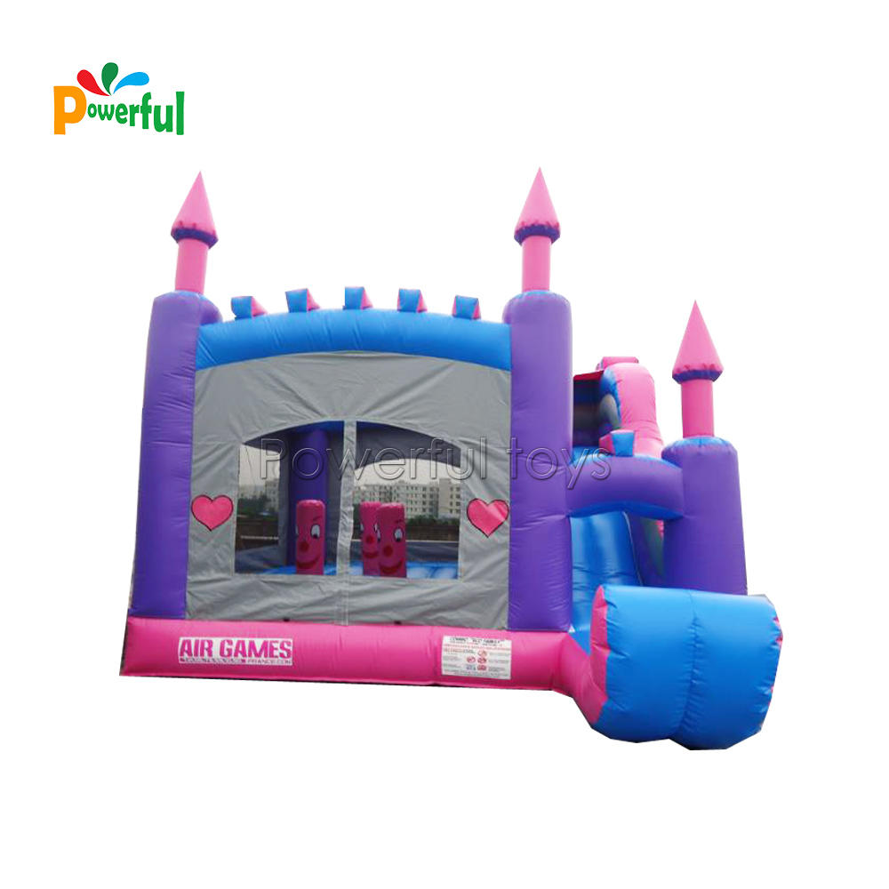 Inflatable bouncer,bouncy castle with slide for kids