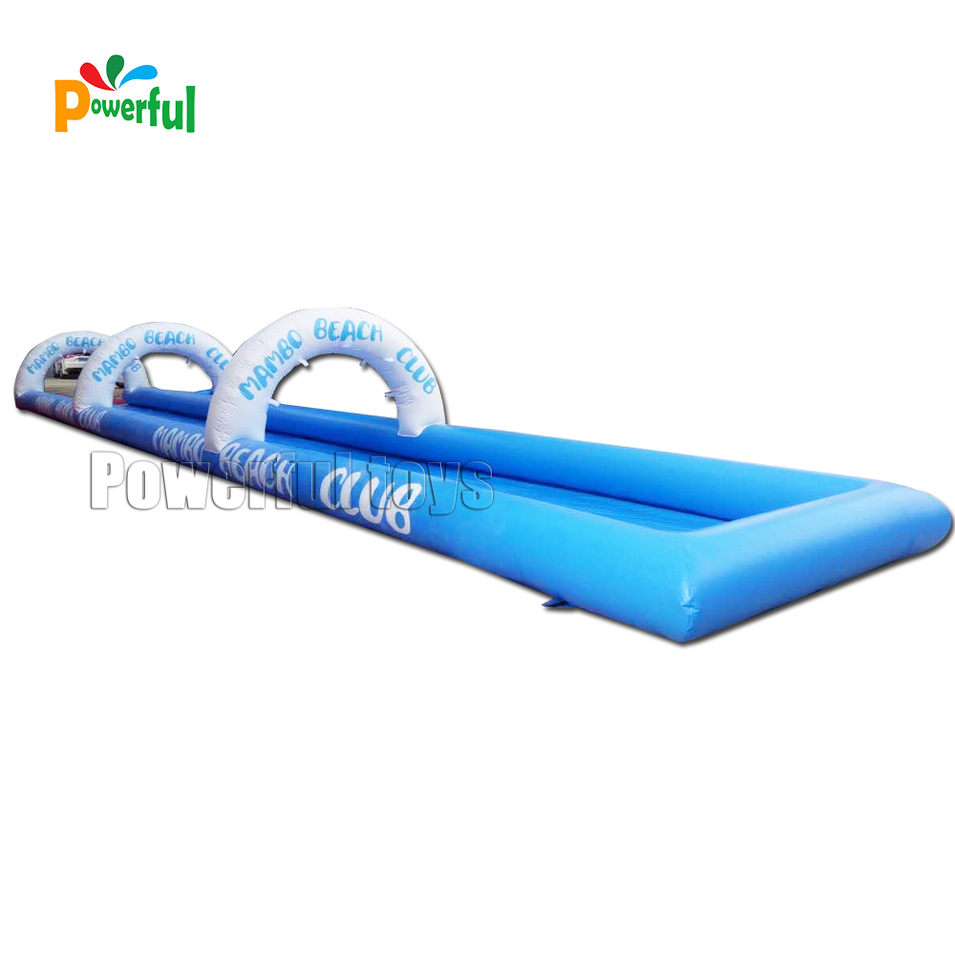 Funny inflatable water slide the city for adult