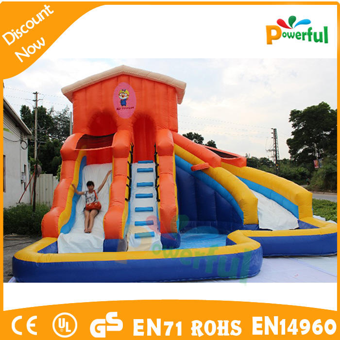inflatable water slide water game for water park