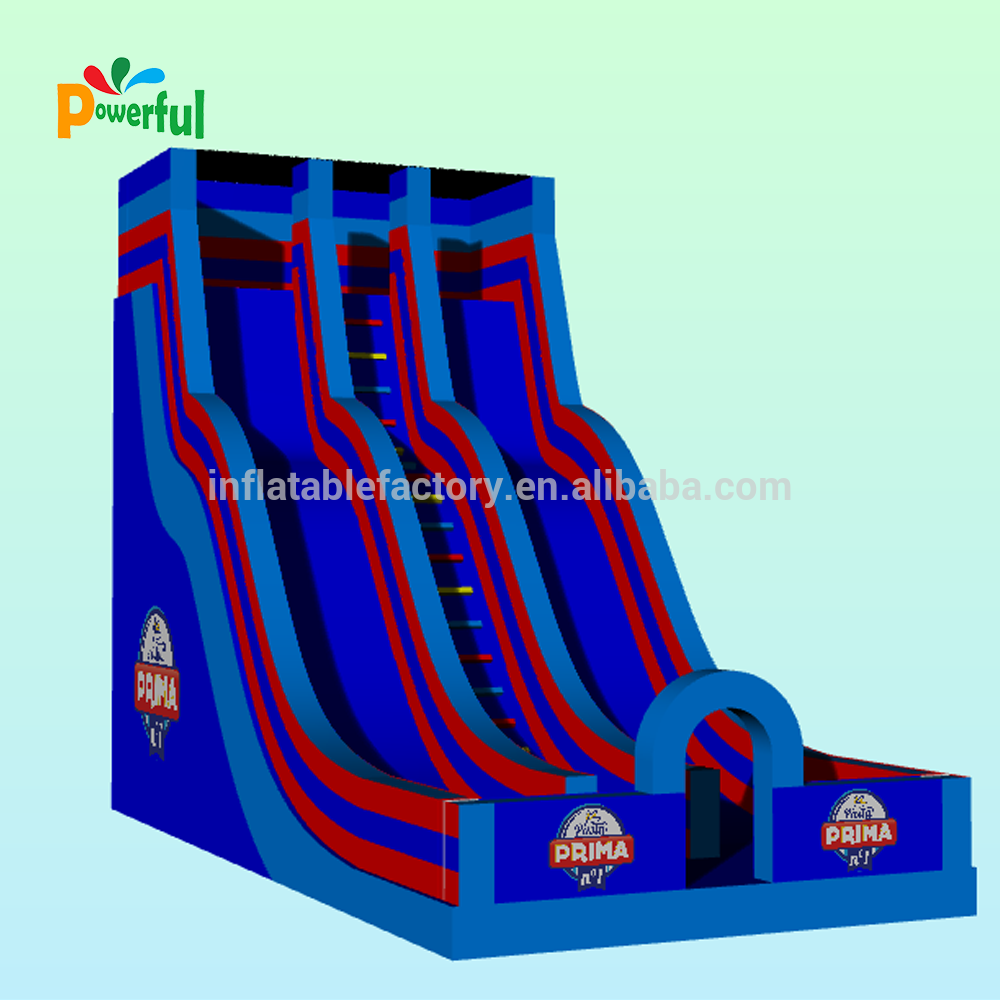 Giant inflatable water slide for sale