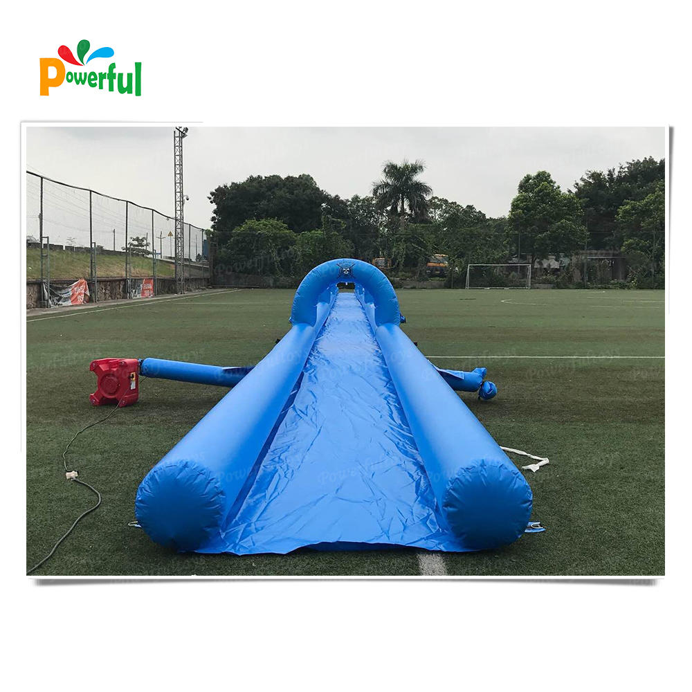 Crazy outdoor 100m water slide water slide inflatable slip n slide