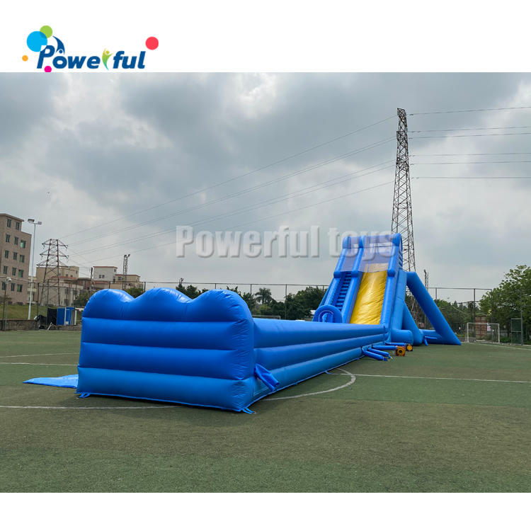 Hippo Giant Inflatable Water Slide For water park