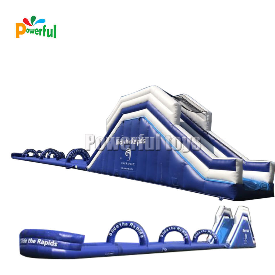 Summer Giant inflatable city water slip n slide game