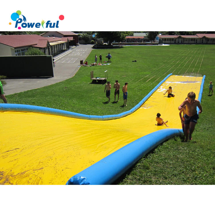 Lawn inflatable belly water slip n slide the city inflatable slippery slide