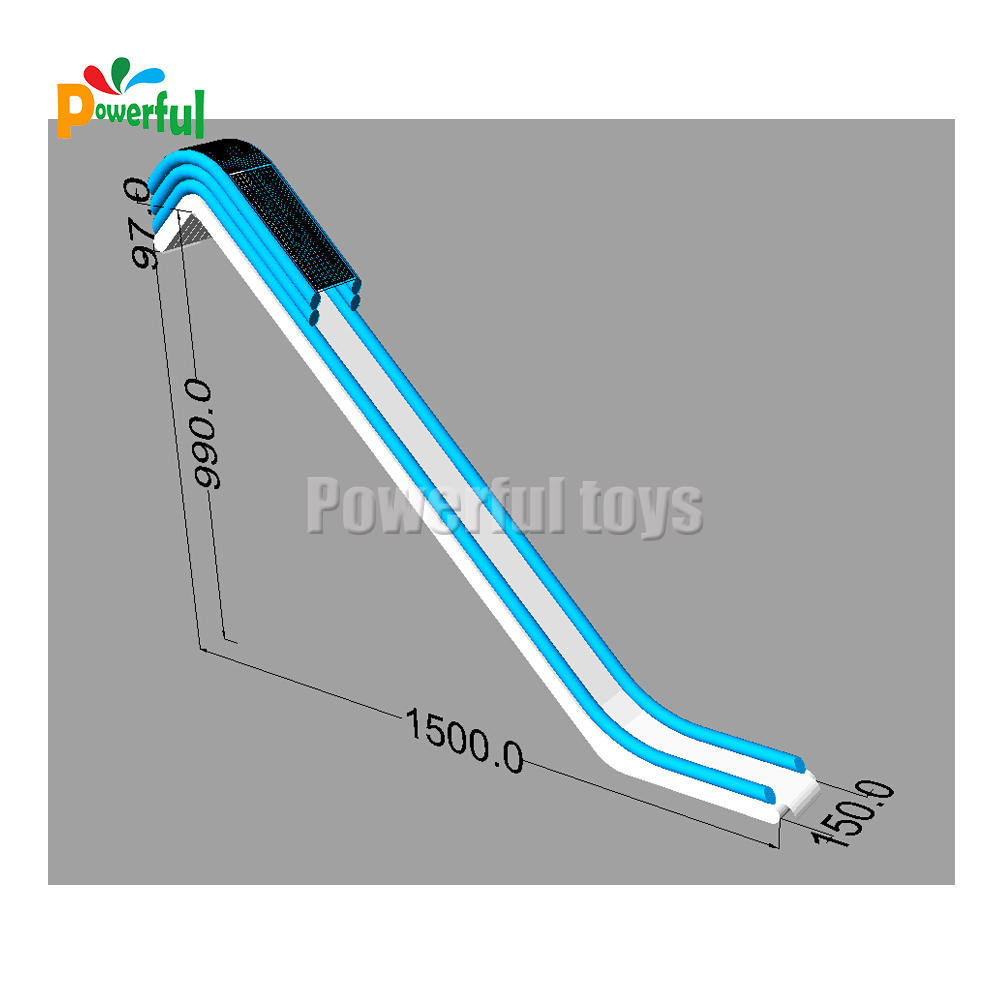 inflatable yacht slide price water slide for boat