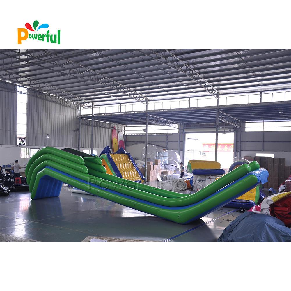 inflatable slide water slide for boat