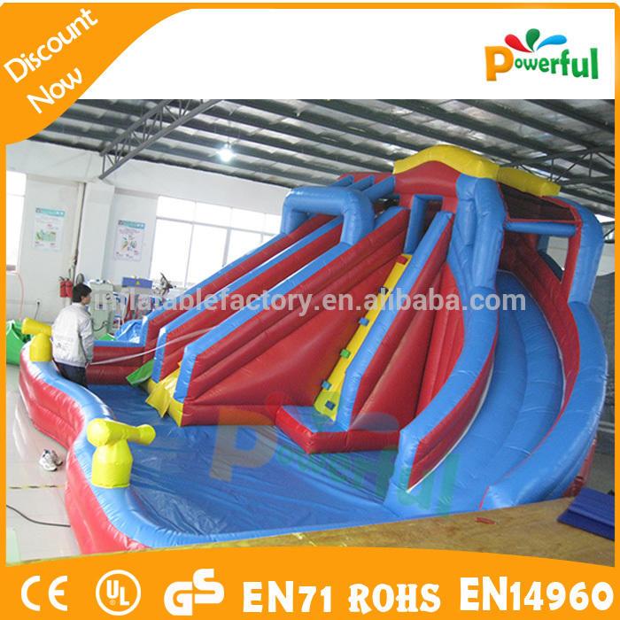 2017 used swimming pool slide for rental