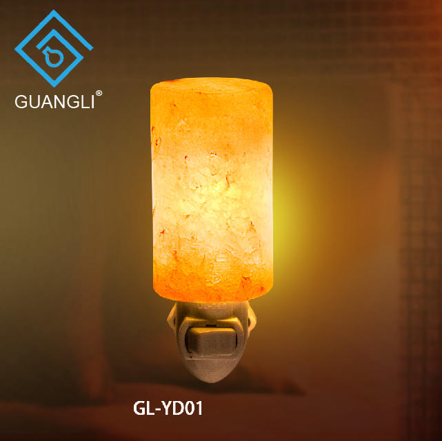 Rock Salt 7W Natural Crystal Himalayan Hand Carved Rock Salt Lamp Wall Lamp Light ETL CE SAA CB BS night light