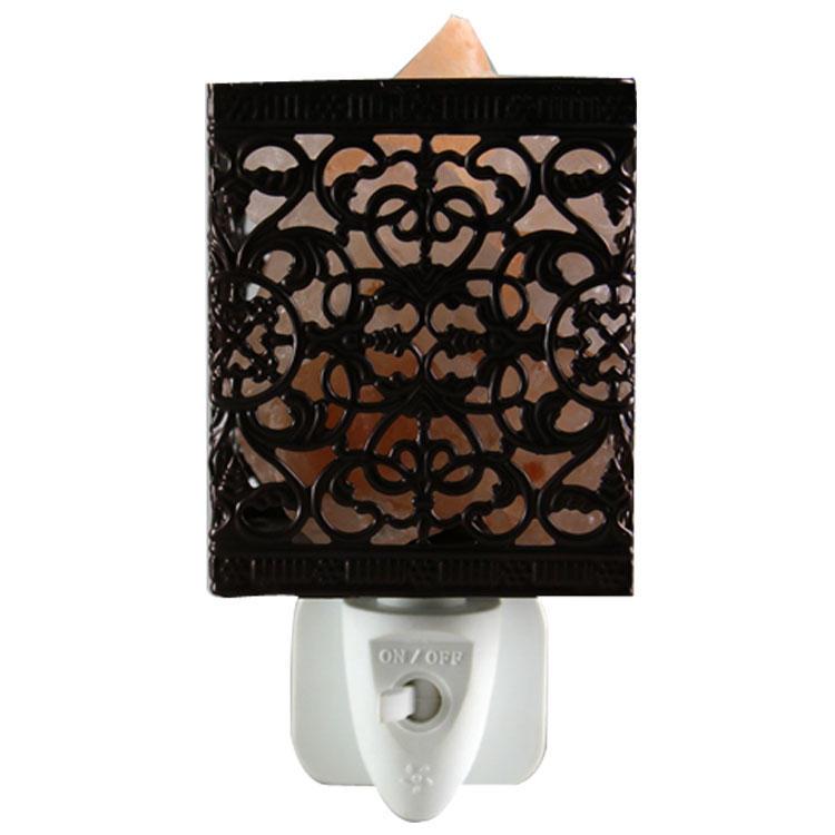 Quartet love Salt lamp Iron Craftworks plug in night light ETL CE SAA CB BS