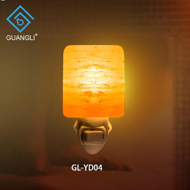 Himalayan crystal salt lamp socket Rock Salt Night Light Wall lamp with ETL