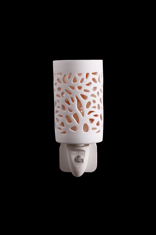 Ceramics hollow Air Purifier night light Himalayan rock Salt Lamp ETL CE SAA CB BS Plug in