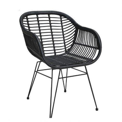 Rattan papasan bar cocoon round set with cushion photo chair