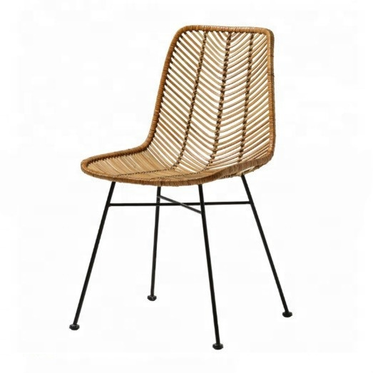 Rattan dining wooden cushion for wood chair