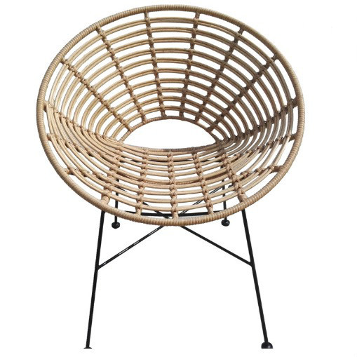 Garden lounge / rattan rocking egg shaped chair outdoor furniture