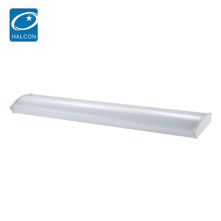 New product plastic 2ft 4ft 5ft 6ft 20w 30w 40w 60w 80w led batten strip light