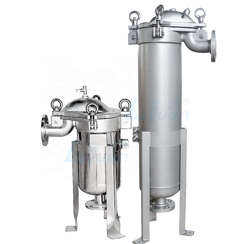 Factory SS 304 316 Stainless steel filter housing for bag filter with pp bag 1 5 10 25 50 100 200 micron filtration