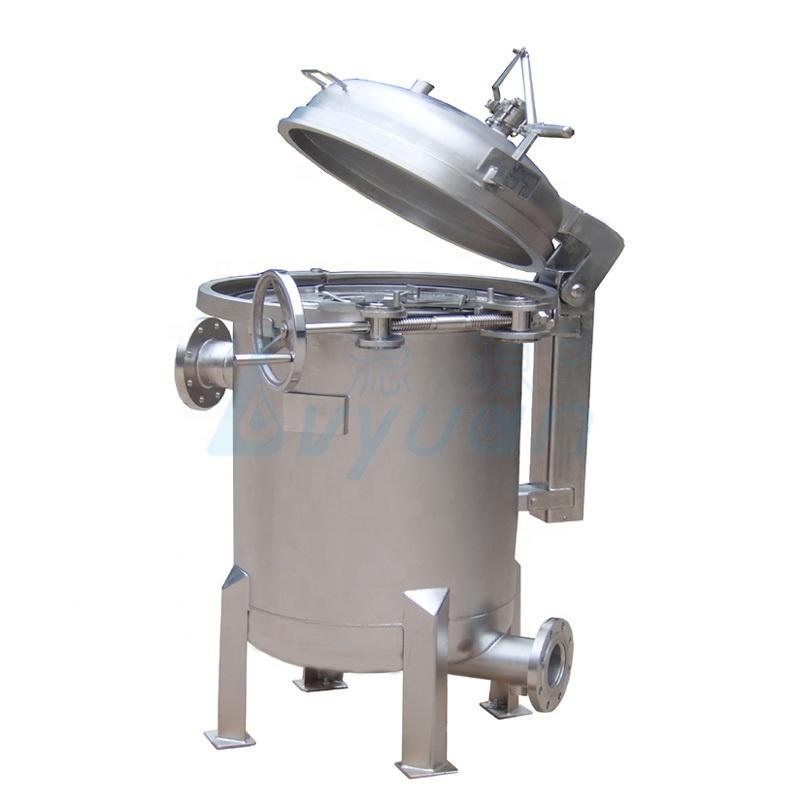 1/5 Micron multi-bag Stainless Steel Filter housing150 Psi Bag Filter Housing