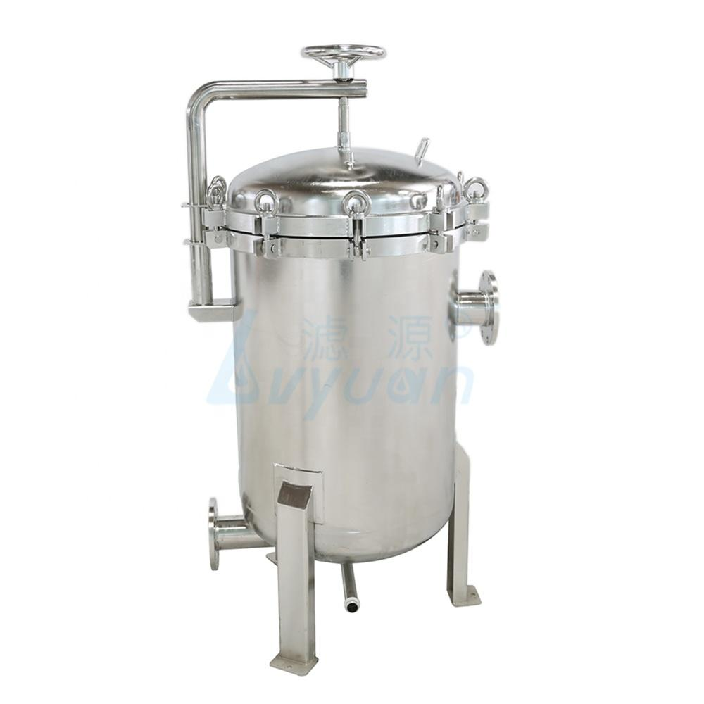 304 316 stainless steel multi bag filter housing for industrial water treatment